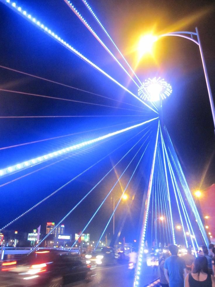 Han River Bridge , Da Nang, Viet Nam