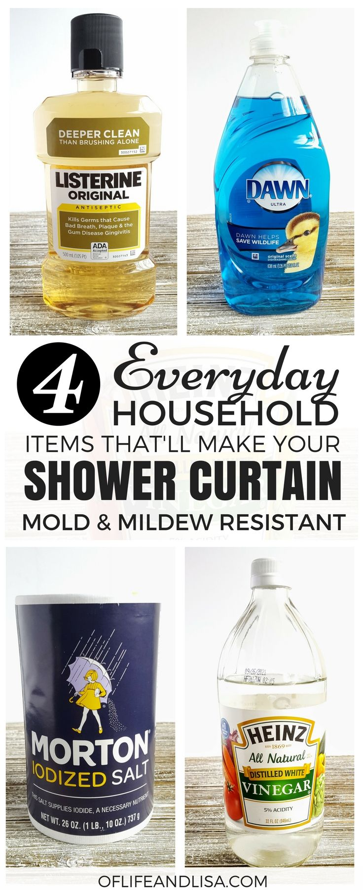 This Post Will Show You How To Use Everyday Products Keep Your Shower Curtains And Liners Mold Mildew Free True Lifesaver