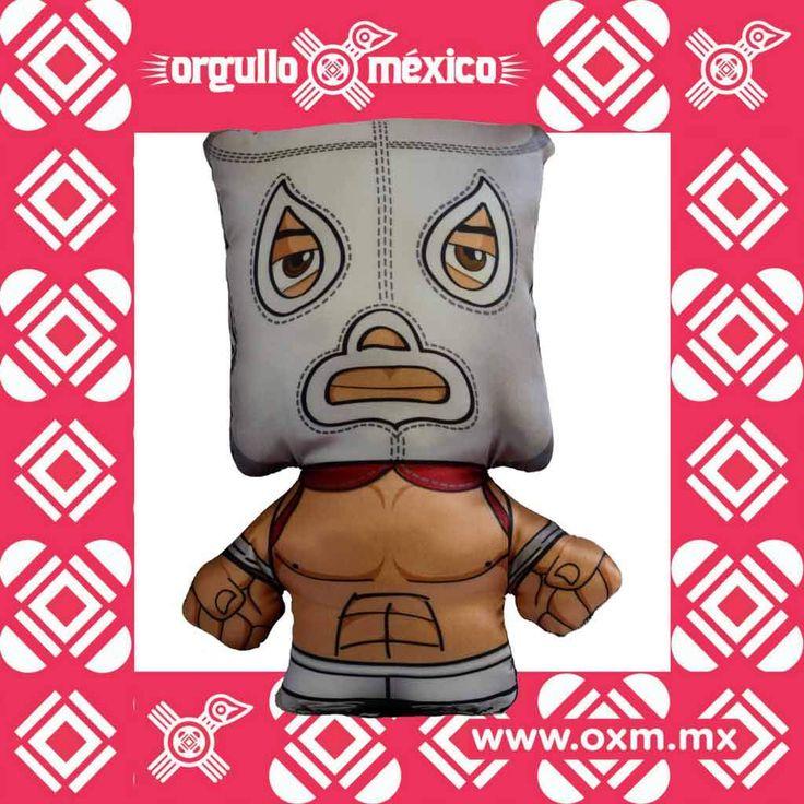 Muñeco peluche cabezón El Hijo del Santo (Producto Original HDS)