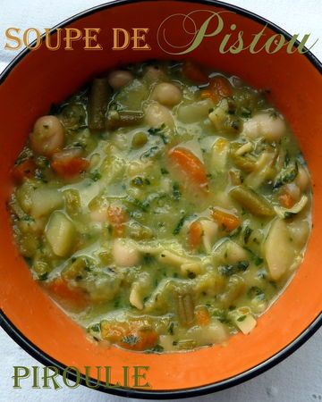 Piroulie - Soupe au pistou