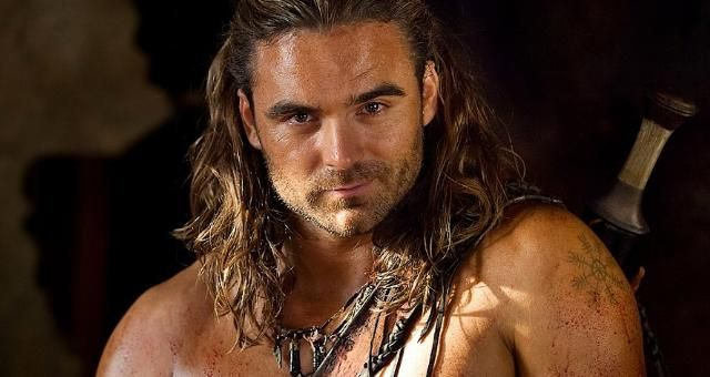 Dustin Clare as Gannicus from Spartacus series ❤️