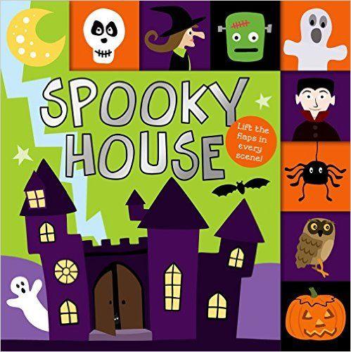 lift the flap tab spooky house lift the flap tab halloween bookshalloween - Halloween Books For Babies