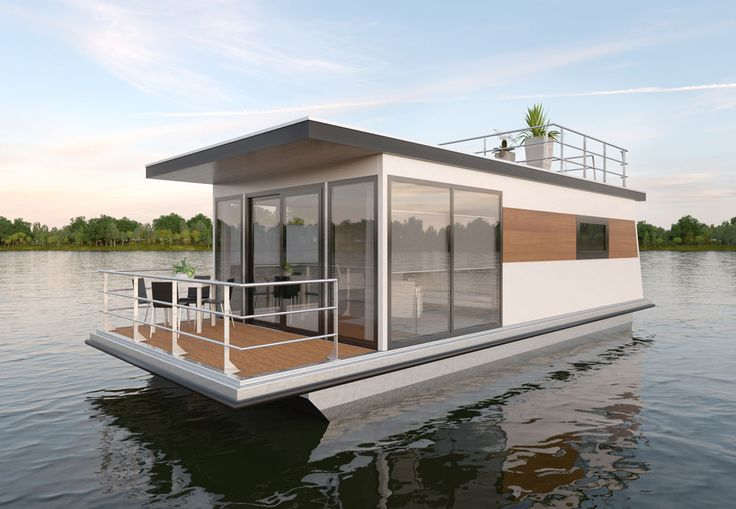 Hausboot Schwimmende häuser, Hausboot kaufen, Hausboot