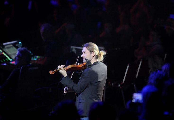 Bilder vom David-Garrett-Konzert in Dortmund.