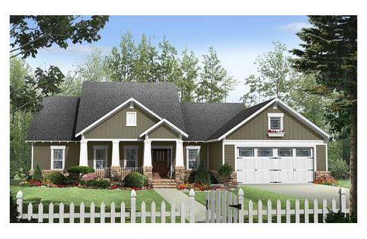 .Craftsman Houses, Craftsman House Plans, Home Plans, Floors Plans, Dreams, Cottages House Plans, Garages, Houseplans, Bedrooms