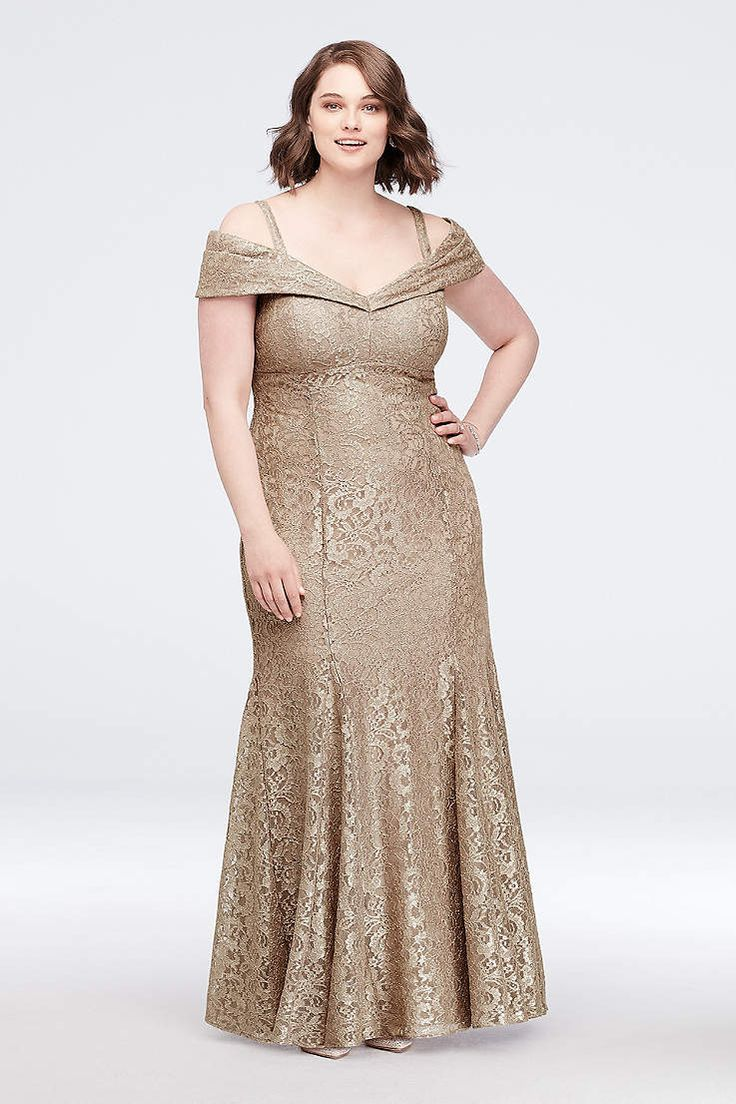View Long RM Richards Dress at David's Bridal Plus size