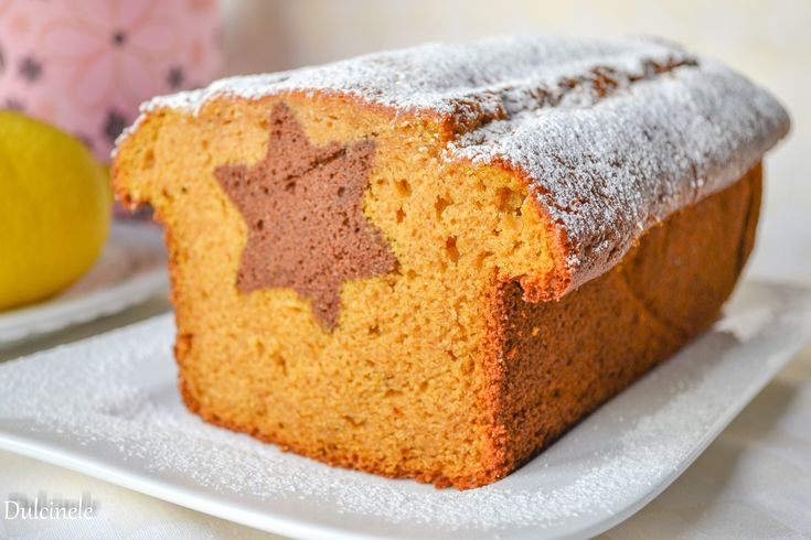 Pumpkin Cake with a surprise