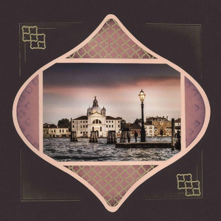 Embarquement Venise - scraparmor, mise en page Noisette