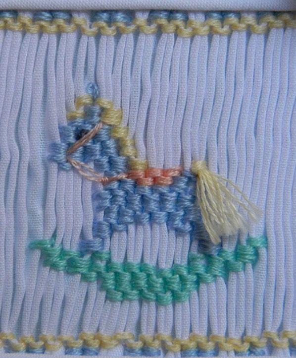Rocking Horse - Picture Smocking