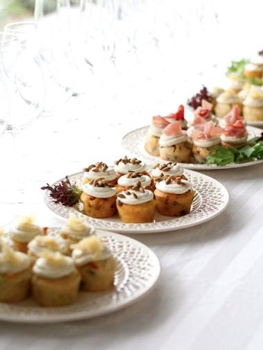 #Ghermez savoury #cupcakes