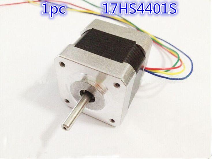 Free Shipping Nema17 Stepper Motor 42 motor Nema 17 motor 42BYGH 1.7A (17HS4401S) motor for CNC XYZ 3D printer 4-lead