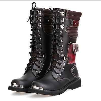 Bad Ass gothic army boots. Visit RebelsMarket boots section for more gorgeous looking mens boots