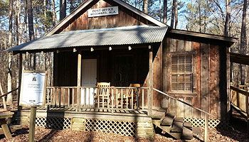 Tannehill Ironworks SP | Woodward Post Office Cabin Rental