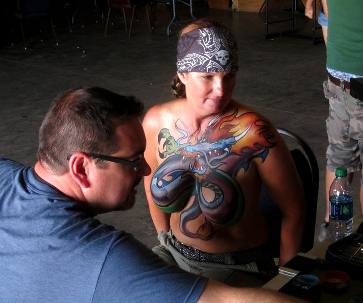 Opinion motorcycle body painting version