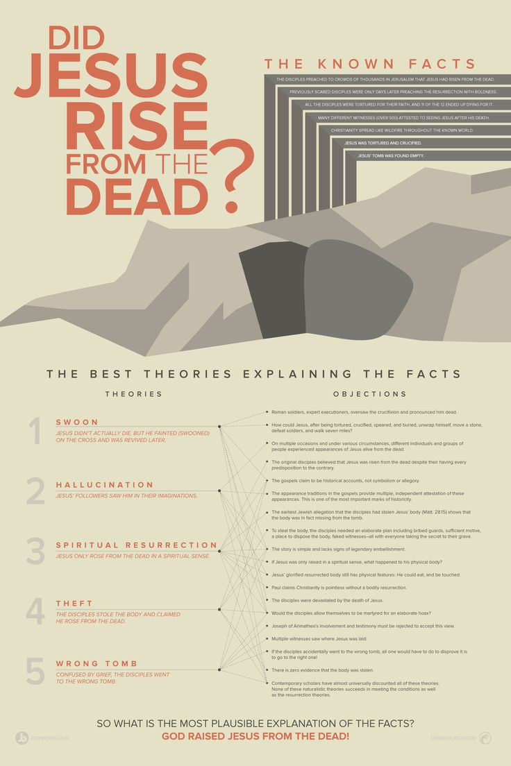 did-jesus-rise-from-the-dead-infographic.png (1800×2700)