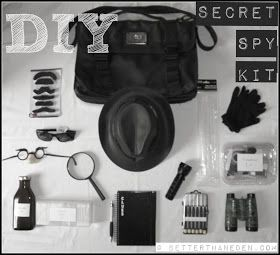Better Than Eden: A DIY Secret Spy Kit