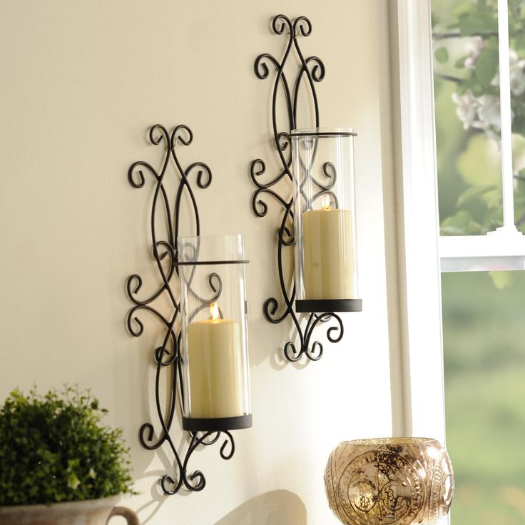 These simple and beautiful sconces are temporarily on sale! Purchase this set for $19.98 through 9/13.