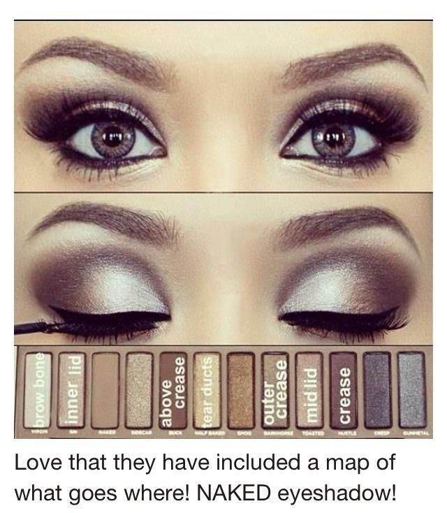 Brand-NAKED Eye Makeup
