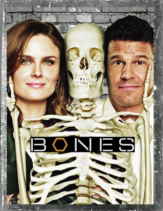 Bones TV Show Shirt ALL SIZES by WillsTshirts on Etsy, $14.99