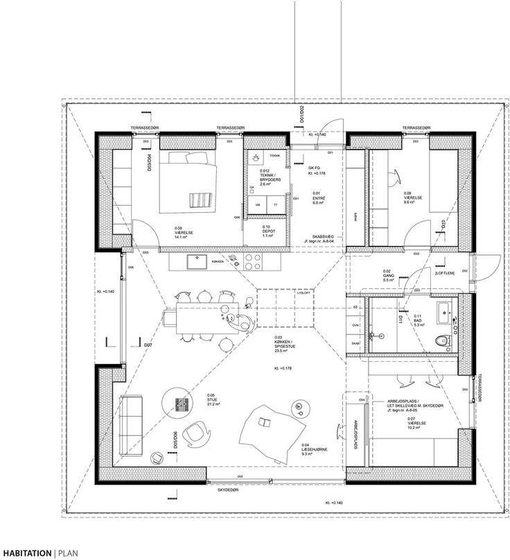 198 best arch modernist house images on pinterest floor for Paper for architectural drawings
