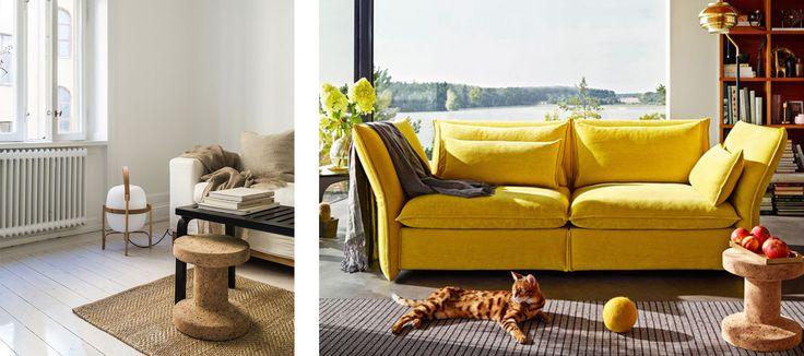 Vitra interieur geel kurk #Vitra #kurk