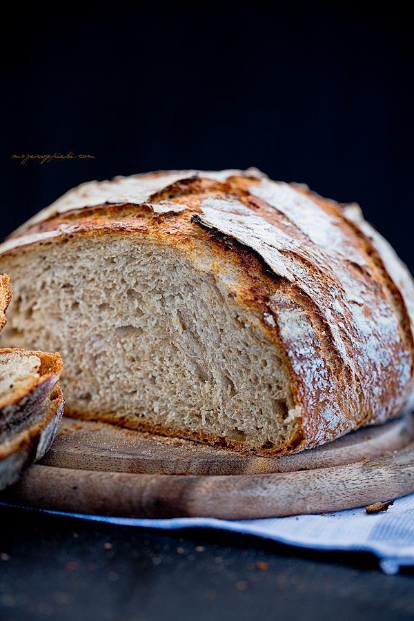 Pain de blé - pain de seigle avec des graines de carvi