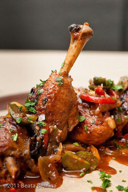 My favorite chicken dish!! Chicken Cacciatore