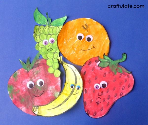 Healthy Eating Craft Activities For Preschool