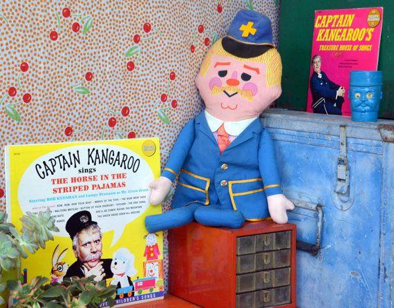 60s Captain Kangaroo TV Show Collection: Stuffed Mattel