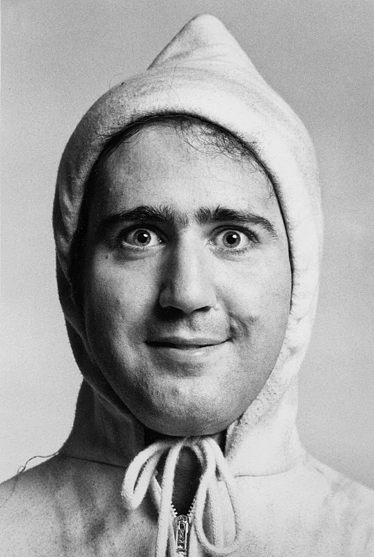 Andy Kaufman - He very often fell very flat with his comedy but he was way out on the ledge. BA