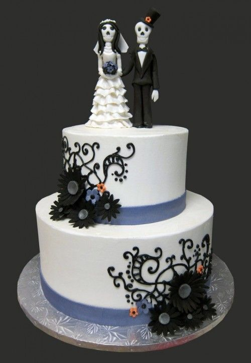 68 Best Halloween Wedding Cakes Images On Pinterest Cake