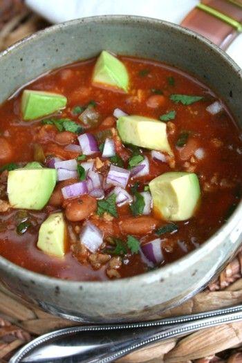 Healthy Turkey Chili with Pintos recipe | Healthy Seasonal Recipes