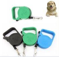 Portátil Cão de Estimação Retrátil Automático com Controle de Tração de Tração Coleiras & Leads Para animal de Estimação Pequeno Cão…