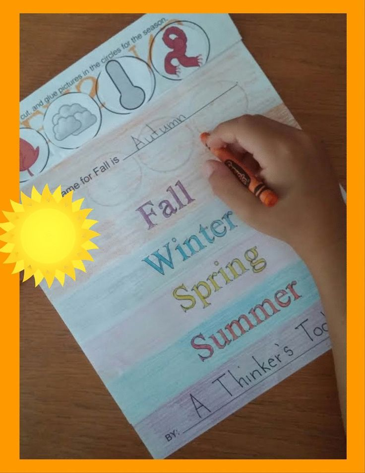 Seasons Flip Book by A Thinker's Toolbox is a fun activity that your K and 1st Graders can do to learn more about the seasons. Included are flip book pages for each season, easy cut and paste clip art, printing and assembly directions, picture examples, and answer keys.