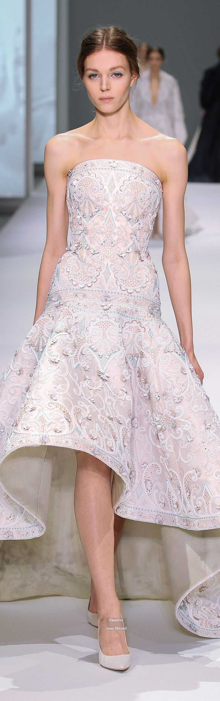 Ralph & #Russo Haute #Couture Spring Summer 2015 #collection