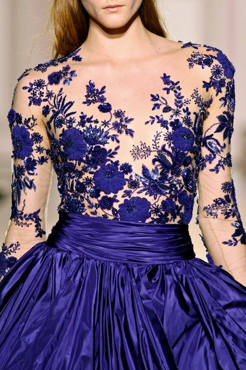 Zuhair Murad couture, fashion week 2012