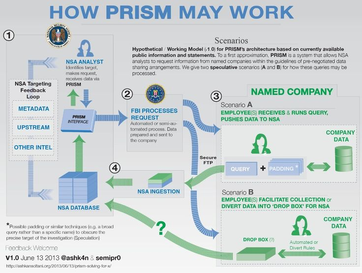 See How PRISM May Work