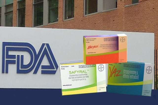 What the FDA says about blood clots and drospirenone pill brands like Yaz, Beyaz, Yasmin and Safyral.