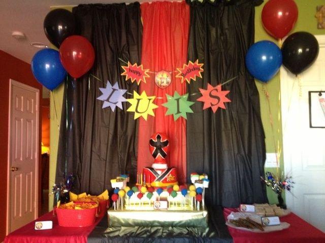 """Photo 1 of 5: Power Rangers Samurai / Birthday """"Power Rangers Samurai party!""""   Catch My Party"""