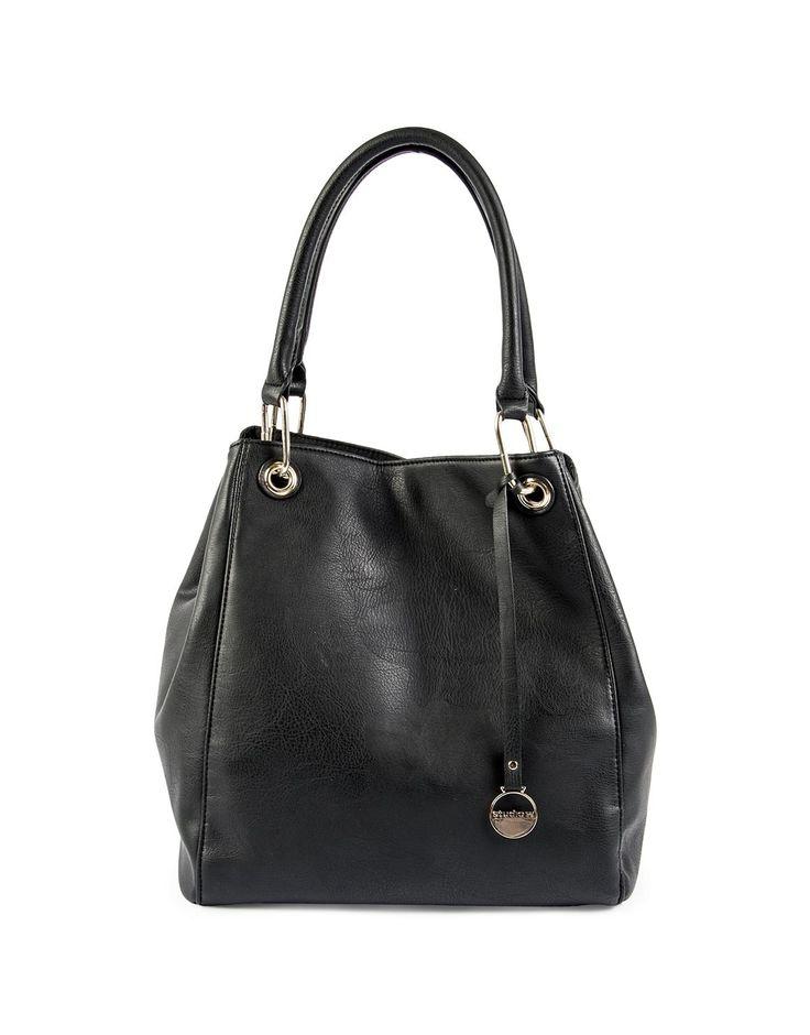 Ring Trim Hobo Bag