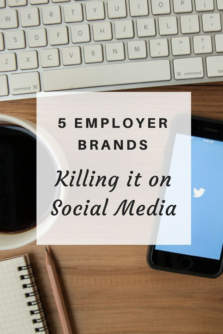 retirement letter to boss%0A Top   companies showcasing their employer brand on social media