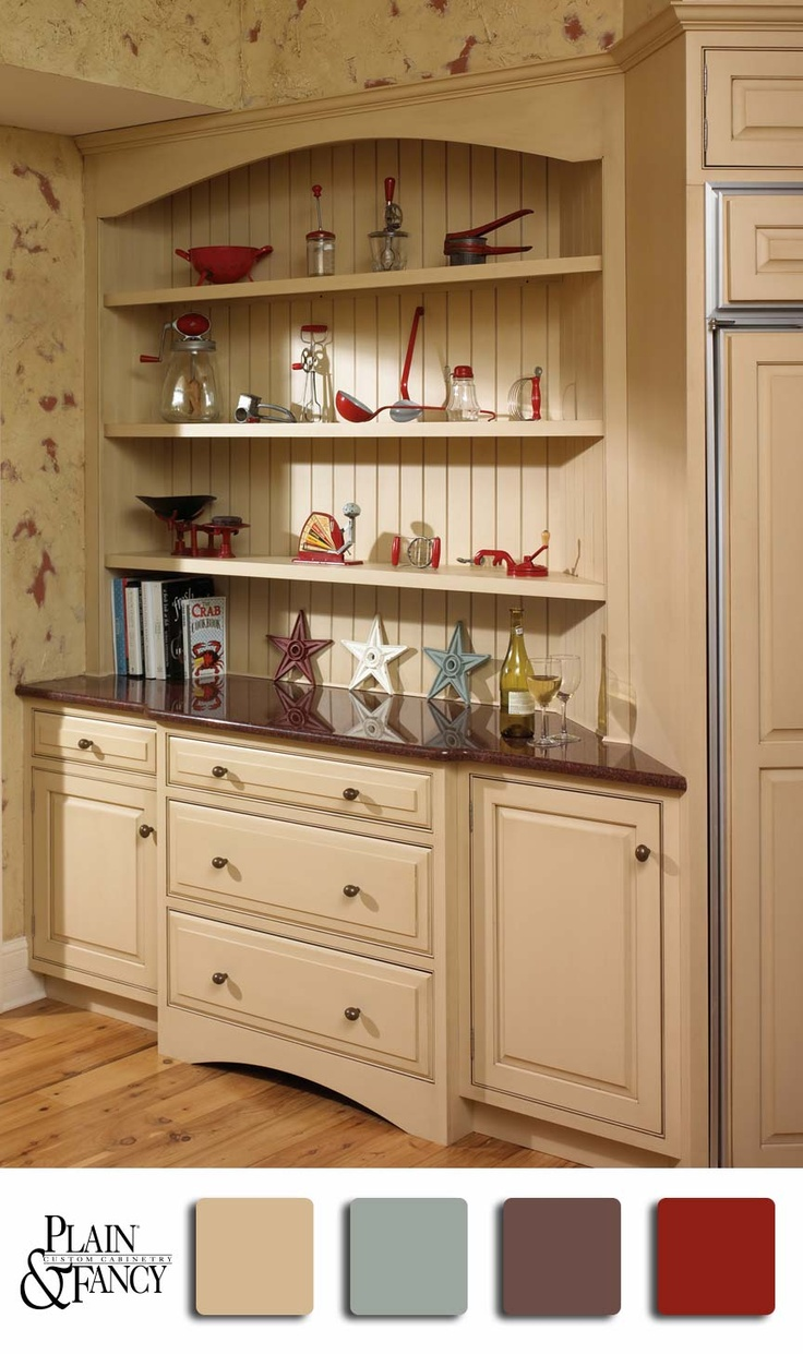 Traditional kitchen seattle by canyon creek cabinet company - Kitchen Hutch Kitchen Redo Kitchen Ideas Country Hutch Hutch Cabinet Curio Cabinets Cupboards White Hutch Hutch Ideas