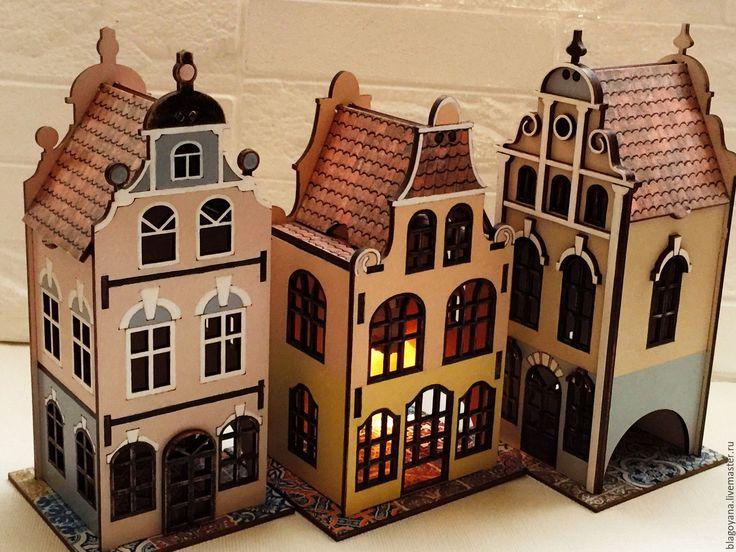 """Купить Чайный домик """"Где живет Андерсен?"""" в интернет магазине на Ярмарке Мастеров"""
