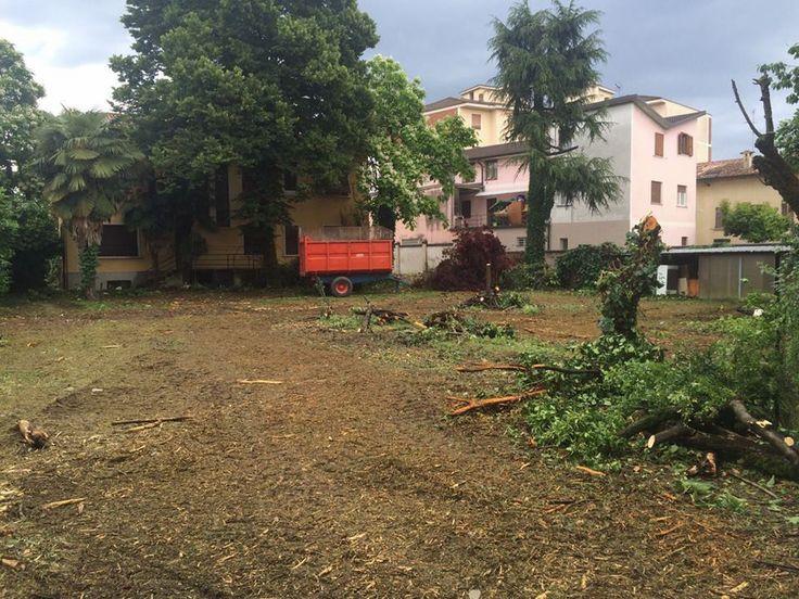 A Romano di Lombardia si abbatte la storica Villa Pagliarini: al suo posto un complesso residenziale