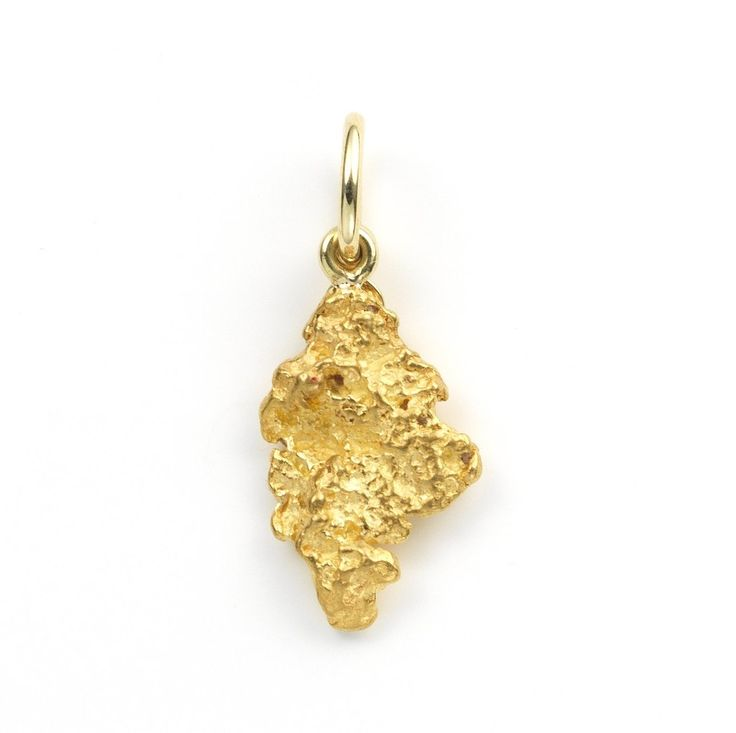 Fairtrade Goldnugget Worldcitizen Pendant by Golpira – Golpira