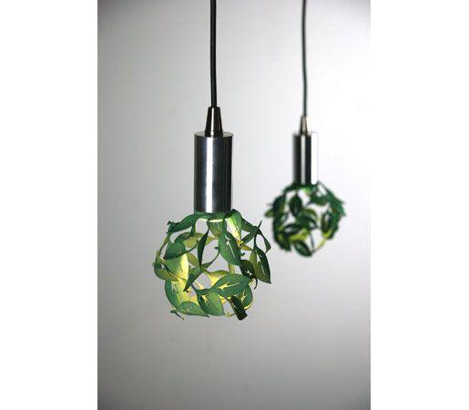 Blowing Leaves Pendant 2 by CP Lighting. #design #interiordesign #interiordesignmagazine #productFIND #lighting #leaves #green