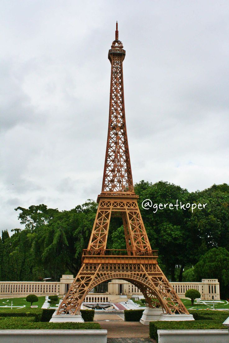 Eiffel Tower Miniature, Mini Siam, Pattaya