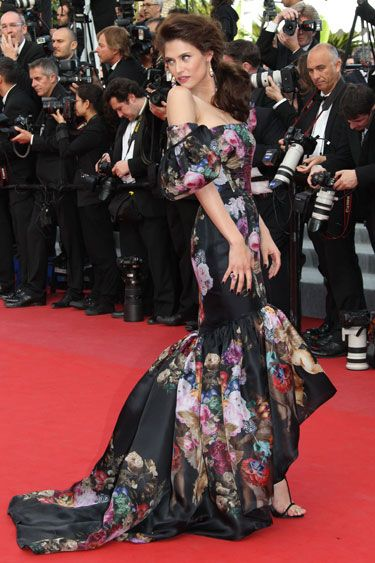 Bianca Balti in Dolce & Gabbana.  Dress. Is. Amazing!