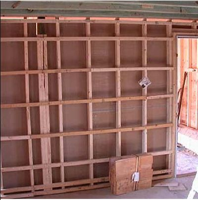 Mooney Wall -- A low cost, high R value wall
