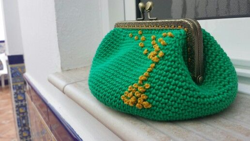 Monedero de crochet. Ovillo Tejedor